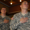 Veterans reception honors armed forces