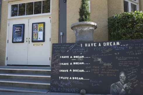 "Attendees to the MLK event at the Historic Ashland Armory were greeted by signs filled with ""dreams"" for humanity."
