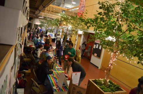 The ICC World Fair took place in the Stevenson Union with (x) clubs attending.