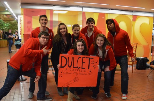 Dulcet a cappella group.