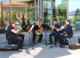 A SOAR performance outside of Hannon Library. (Kristy Evans/The Siskiyou)