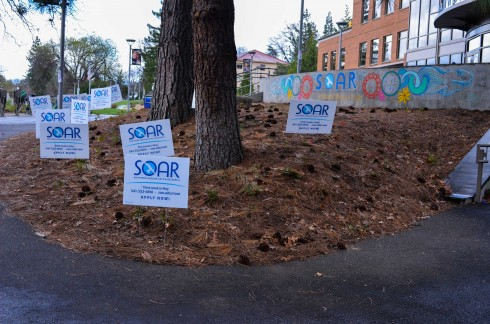 SOAR gearing up for events this week. (Karoline Curcin/The Siskiyou)