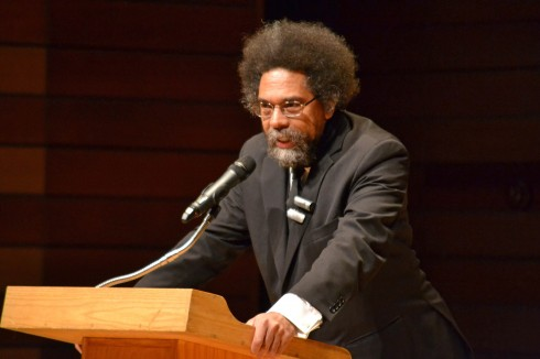 Cornell West at SOU November 14, 2013 (Photo Cred: Miranda Stiles/TheSiskiyou)
