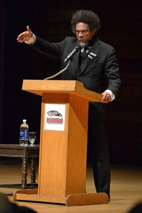 Cornell West at SOU November 14, 2013 (Photo Cred: Miranda Stiles/The Siskiyou)