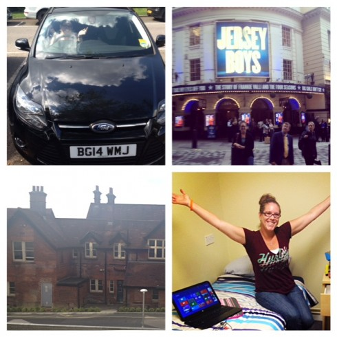 Ashley Johnson gives us a glance at her adventures in Winchester.