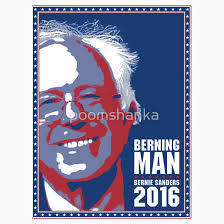 berning man