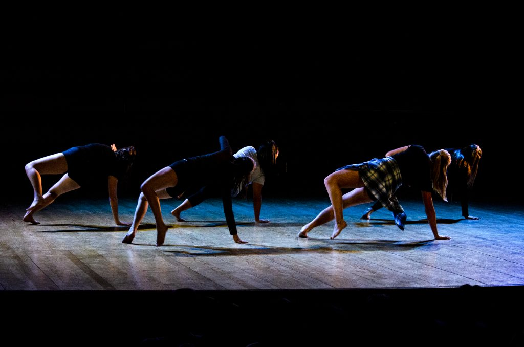 dancers in a bend doing impressive dance moves