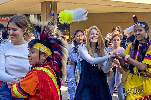 SOU students participate in Native American Tribes Celebration