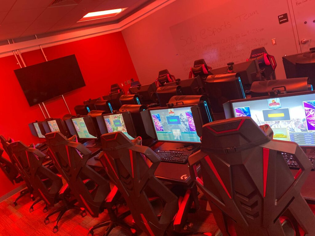 The Hub, where the Esports program is located. Photo Credit Kate Swartz